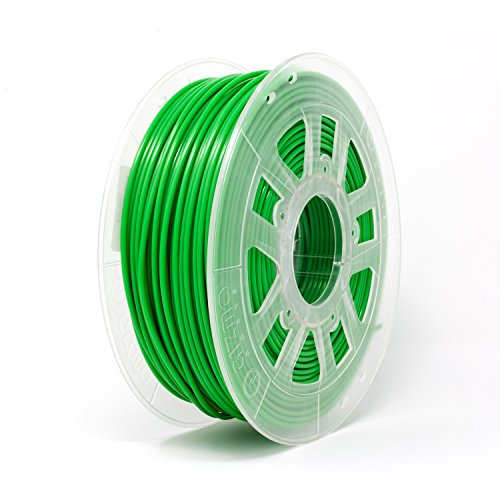 Gizmo Dorks 1.75 mm PLA Filament, 1 kg for 3D Printers, Opaque Green