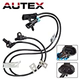 AUTEX ALS1184 Front Left & Right ABS Wheel Speed Sensor Compatible w/96 97 98 99 CHEVROLET K1500 SUBURBAN 1997 1998 1999 GMC C1500 SUBURBAN 1996 1997 1998 1999 2000 GMC K3500 1996 1997 1998 GMC YUKON