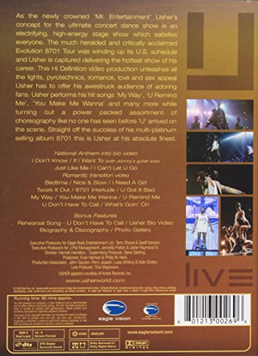 Usher: Live - 8701 Evolution Tour by Umgd/Eagle Rock Vision (Image #1)