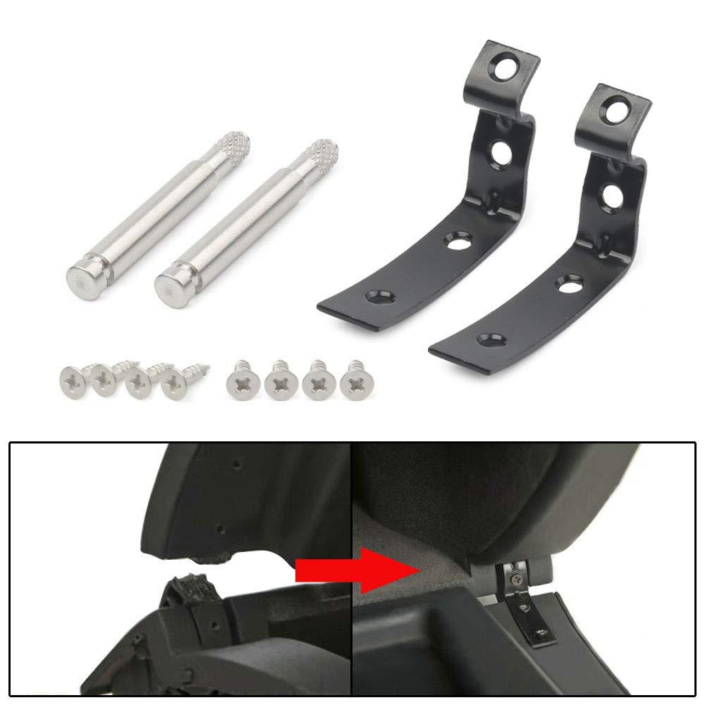 PinShang Kfz-Zubeh/ör f/ür Audi A4 S4 RS4 B6 B7 8E Handschuhfach Deckelscharnier Schnappbefestigungsset Halterungen