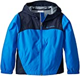Columbia Big Boys' Glennaker Rain Jacket, Hyper Blue, Small