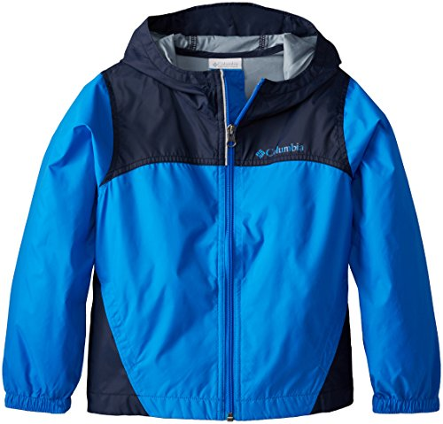 (Columbia Big Boys' Glennaker Rain Jacket, Hyper Blue, Small)