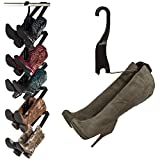 hanging boot rack - Boot Storage Rack by Boot Butler – As Seen On Rachael Ray – Clean Up Your Closet Floor with Hanging Boot Storage – Easy to Assemble & Built to Last – 5-Pair Hanger Organizer & Shaper/Tree