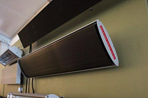 Heatstrip 1800 Watt Mit Fernbedienung - Dunkelstrahler - Infrarotstrahler - Wä rmestrahler Fonteyn