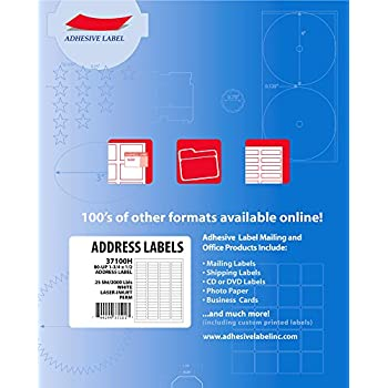 amazon com adhesive label mailing return address labels for laser