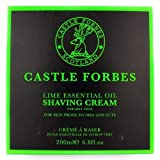 Castle Forbes Lime Shaving Cream (200 ml) by Castle Forbes