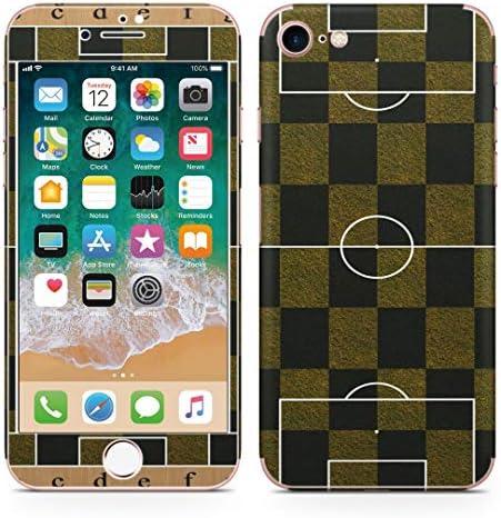igsticker iPhone SE 2020 iPhone8 iPhone7 専用 スキンシール 全面スキンシール フル 背面 側面 正面 液晶 ステッカー 保護シール 001236 スポーツ サッカー スポーツ