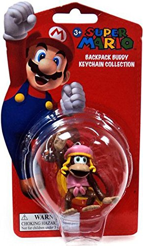 Amazon.com: Super Mario Mochila Buddy Llavero Collection ...