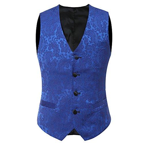 YFFUSHI-Mens-Elegant-Jacquard-3-Piece-Suit-Slim-Fit-Royal-Blue-Tuxedo