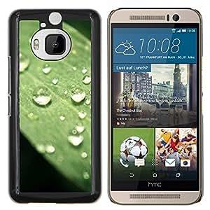 Caucho caso de Shell duro de la cubierta de accesorios de protección BY RAYDREAMMM - HTC One M9Plus M9+ M9 Plus - Planta Naturaleza Forrest Flor 75