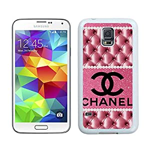 Samsung Galaxy S5 G9008V Chanel 42 White Cellphone Case Handmade and Luxury Design