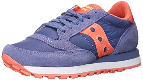 Purple coral Donna Sneaker Saucony Jazz Purple Original light qwxTHF7C
