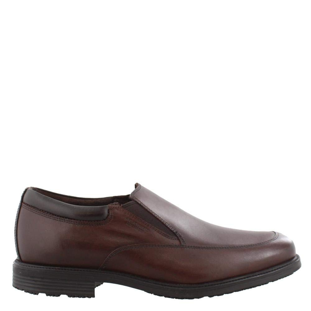 Rockport Men's Lead The Pack Slip On Loafer Cocoa Brown 9.5 W US