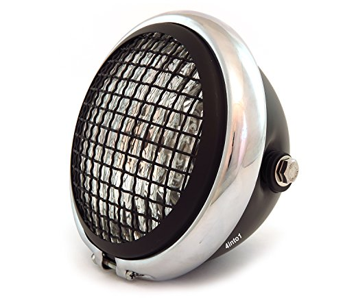 575-bullet-side-mount-halogen-motorcycle-headlight-w-grill-matte-black-chrome-matte-black