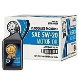 Certified 5W-20 Motor Oil - 1 qt. bottles - 12 pk.(pack of 2)