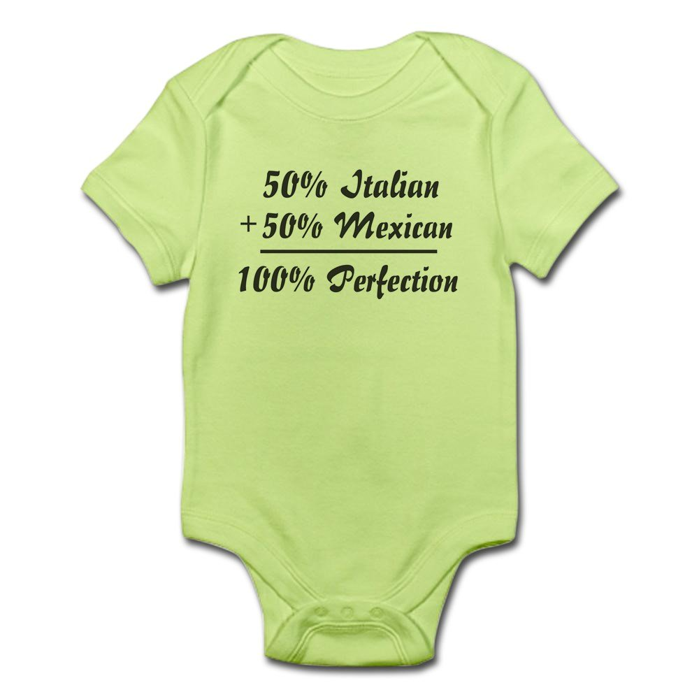 6dc79e582 Amazon.com: CafePress Half Italian, Half Mexican Infant Baby Bodysuit:  Clothing