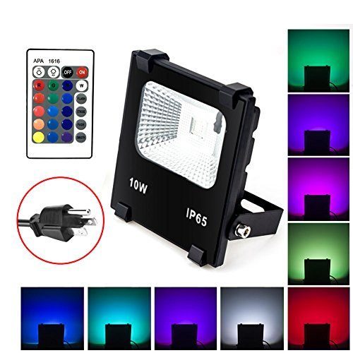 Led 10W Rgb Colour Changing Flood Light Ip65 in Florida - 5