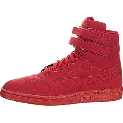 all red high top pumas