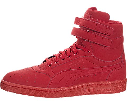 Puma Sky II Hi Texture Wn's Women US 10 Red Sneakers (Mens Red Sneakers)