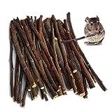 MaiTaiTai 500g Natural Apple Sticks Pet Snacks Chew Toys for Guinea Pigs Chinchilla Squirrel Rabbits Hamster Guinea Pigs