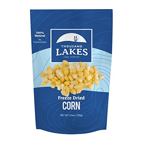 Thousand Lakes Freeze Dried Fruit and Vegetable Snacks - Corn 3.6 oz