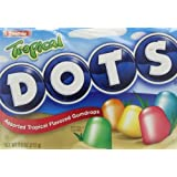 Tropical Dots Assorted Gumdrops Candy (Pack of 3) 7.5 oz Theater Boxes
