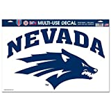 NCAA University of Nevada Wolf Pack Decal/Sticker, 11 x 17″ nevada wolf pack