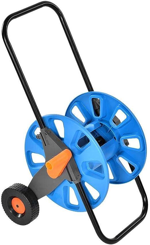 Carrito de riego para jardín, portátil, para jardín, carrete de manguera de agua, carrito, ruedas integradas para riego, jardín, camión, herramientas: Amazon.es: Hogar
