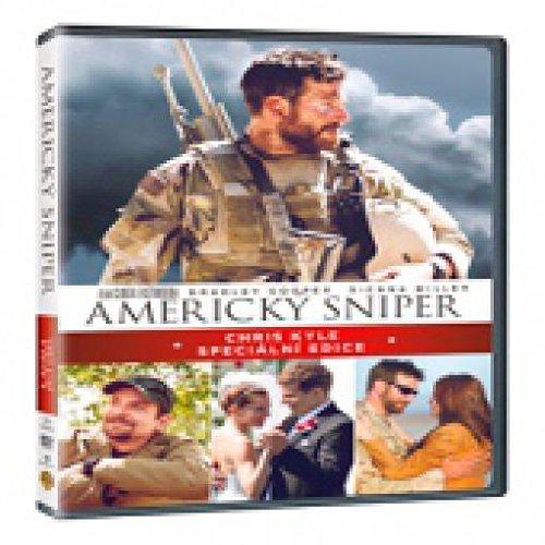 Americky sniper Specialni edice 2DVD (American Sniper Special Edition 2DVD)