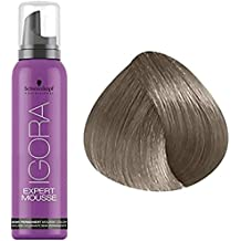 Schwarzkopf Igora Expert Mousse - 8-1 Light Blonde Cendre