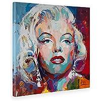 Giallo Bus Quadro Su Tela Canvas, Marilyn Monro