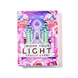 Oracle Cards,Work Your Light Oracle Cards Tarot Board Game Card 44 Sheets