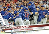 Chicago Cubs 2017 Topps Complete Mint Hand Collated Team Set with Kris Bryant, Kyle Schwarber, 2016 World Series Champions Highlights plus