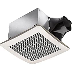 Delta BreezSignature VFB25AEH 130 CFM Exhaust Bath Fan with Fixed Humidity Sensor