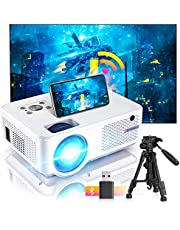 $147 » Bomaker Projector, Native 1080P HD and 300'' Display Supported, Native 800P, WiFi Bluetooth Mini Portable Home Theater Outdoor Movie Video Projector,Compatible with TV Stick, PS4, Phone, iPhone