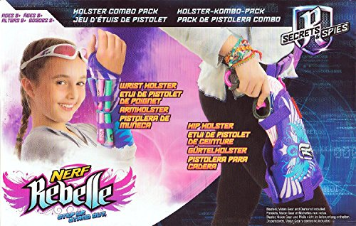 Nerf Rebelle Wrist Holster Combo Pack (Gun Leg Holster With Belt)