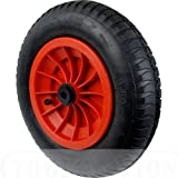 Select Hardware 9605SF 350 mm 14-Inch Pneumatic Wheel with 1-Inch Centre for Wheelbarrow/Truck/Trolley by Select Hardware