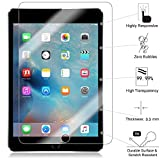 TANTEK HD Clear, Anti-Scratch, Anti-Glare, Anti-Fingerprint, Tempered Glass Screen Protector for Apple iPad Pro (12.9') - 3 Piece