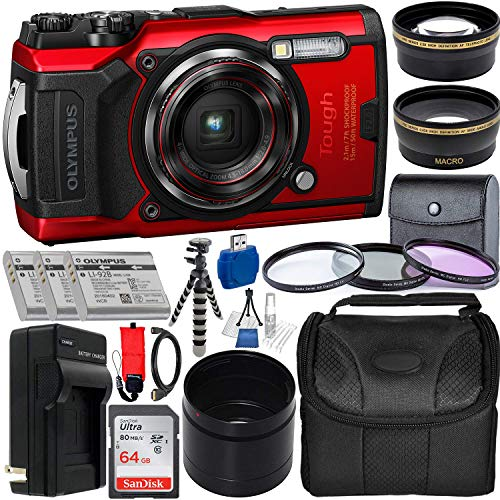 Olympus Tough TG-6 Digital Camera with Deluxe