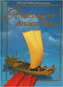 Homework help with houghton mifflin message of ancient days
