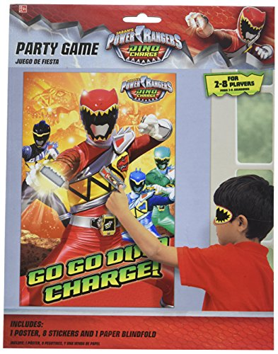 Power Rangers Dino Charge Party Game (Each) (Power Ranger Games Power Ranger Games)