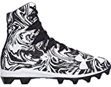 Under Armour Kids Highlight Lux RM Jr. Football Cleats (2.5 Little Kid M, Black/White Lux)