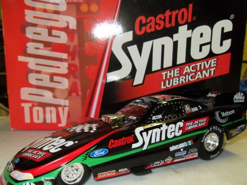 Tony Pedregon Castrol Syntec 1998 Mustang Funny Car NHRA Action Racing 1:24 Die-Cast Stock Car Limited (24 Action Nhra Funny Car)
