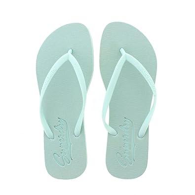 Superdry Super Sleek Flip Flop Mint Green Womens Sandals Large 7 UK 8 UK B072FHLS6P