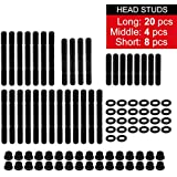 32pcs Cylinder Gasket Head STUDS Kit 134-4001 /2451-Sfor Chevy Competition