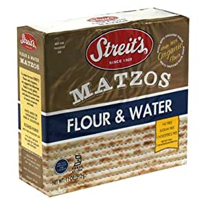 Amazon.com: Streits Matzo, Flour/Water, 11-Ounce Box (Pack
