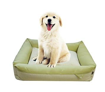 LvRao Caseta para Mascotas, Perros, Gatos Cama a Rayas Transpirable Casitas, sofás, cestas cojín Invierno: Amazon.es: Hogar