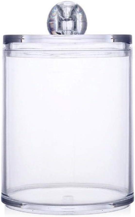 Three Layers R FLORY Acrylic Transparent Cotton Swab Makeup Storage Jars Box Kitchen Bathroom Organization Combination Storage Box Set