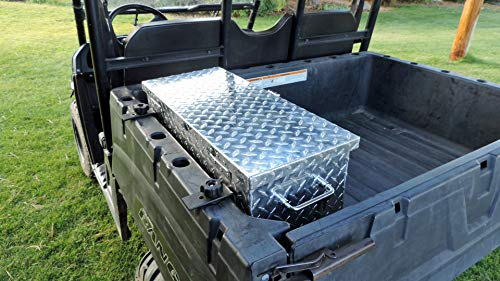 Polaris Ranger & General Diamond Plate Aluminum Tool Box 24