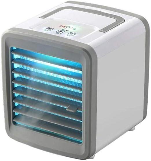 YingQ Mini refrigerador de Aire portátil Pequeño refrigerador de ...